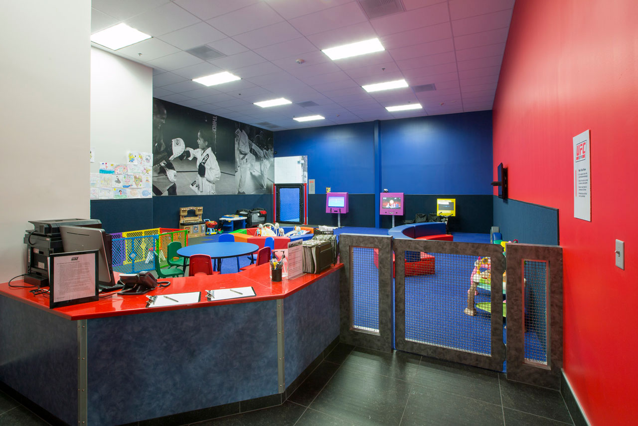 Kids club area