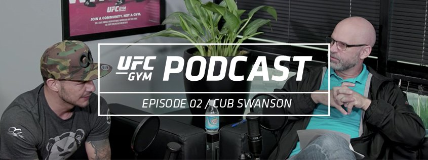 UFC GYM Podcast Episode 02- Cub Swanson Featured Image
