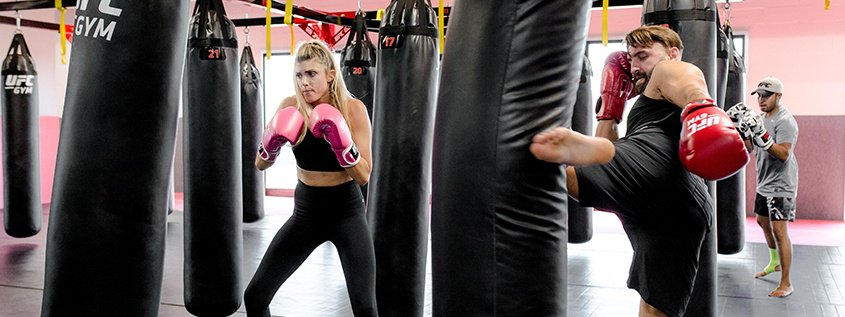 What to Expect in a UFC GYM Kickboxing Conditioning Class Featured Image