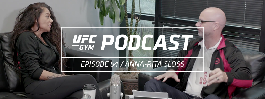 UFC GYM Podcast Episode 04- Anna-Rita Sloss Featured Image