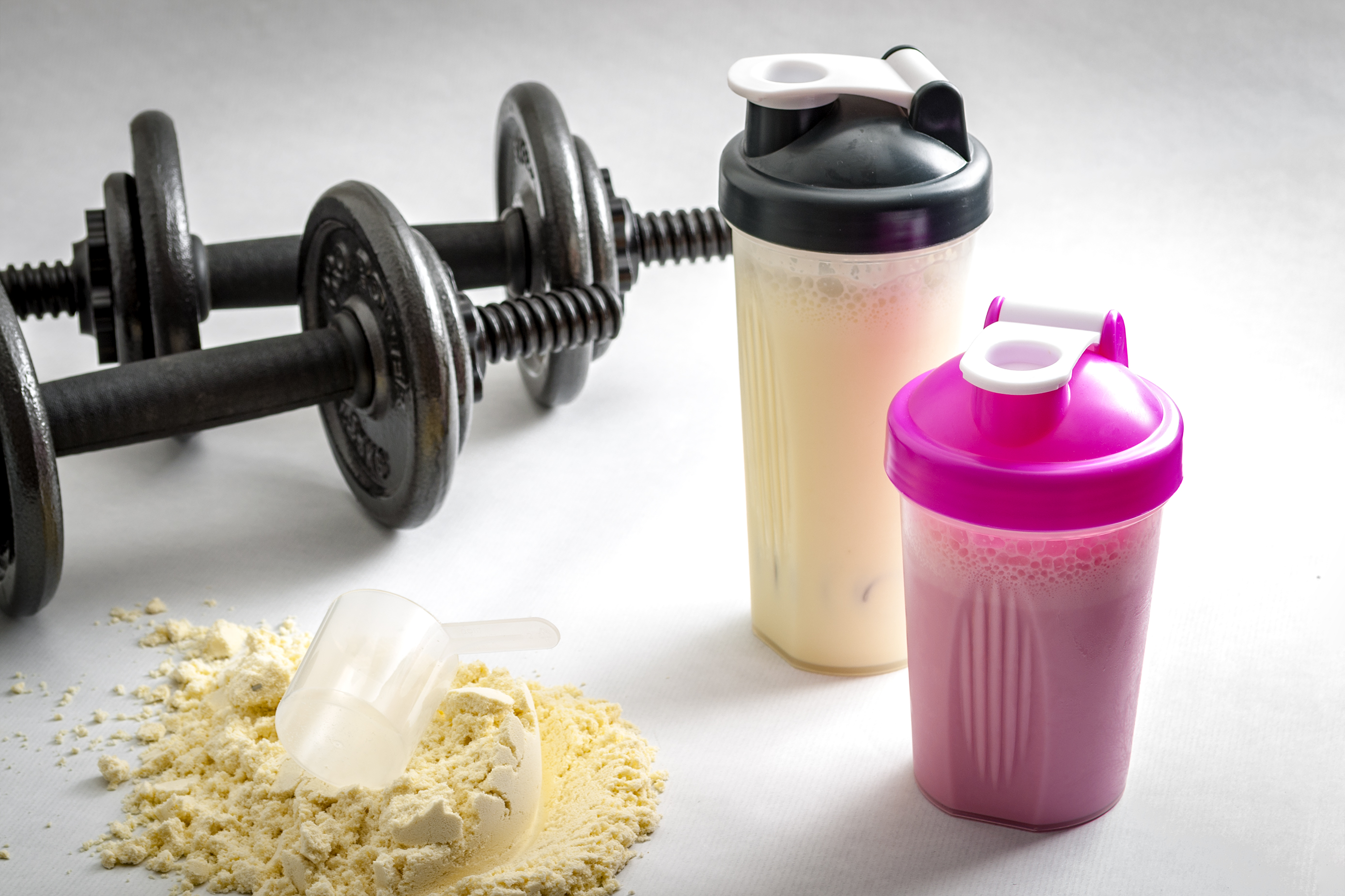 Holiday Dessert Protein Shakes Featured Image